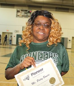 Patsy Bowers Teacher of the Month